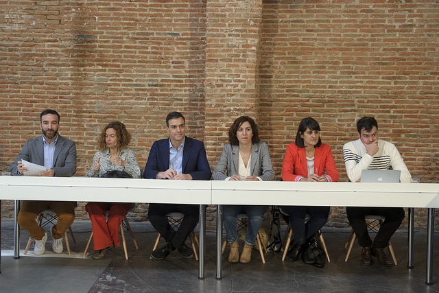Reunión colectivos transparencia y regeneración democrática